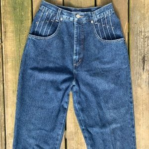 French Dressing Vintage 100% Cotton High Rise Jean